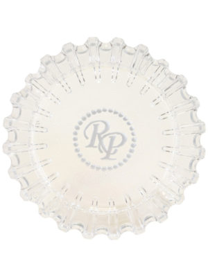 Luminoso Clear Glass Ashtray