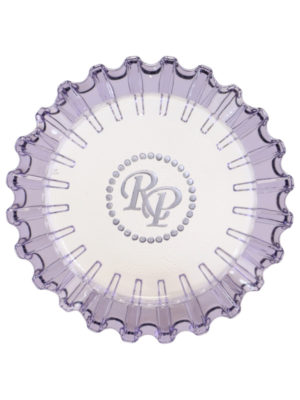 Luminoso Purple Glass Ashtray