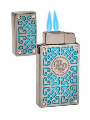 Rocky Patel Burn Lighter Teal Blue