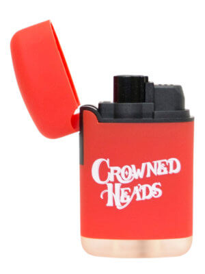 Crowned Heads Single Torch Lighter Red