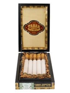 Tabak Especial Lonsdale Dulce is aninfused cigar from the infusion masterminds at Drew Estate.