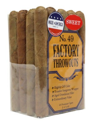 Factory Throwouts No. 49 Sweets