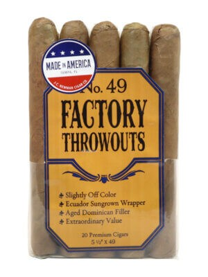 Factory Throwouts No. 49