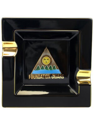 Foundation Black & Gold Ashtray