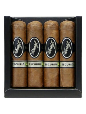 Davidoff 4 Pack Escurio Petit Robusto Cigars