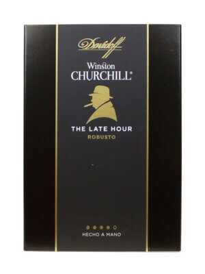 Davidoff Winston Churchill The Late Hour Robusto Cigars
