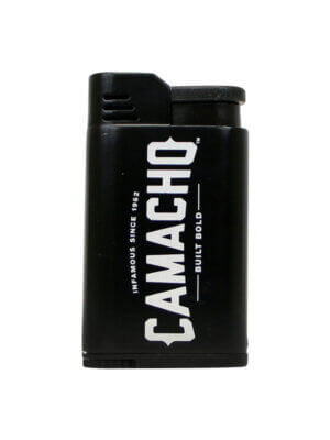 Camacho Black Single Torch Lighter