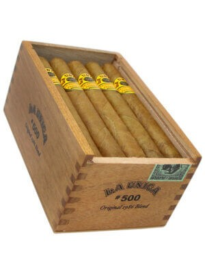 La Unica Cabinet No. 500 cigars