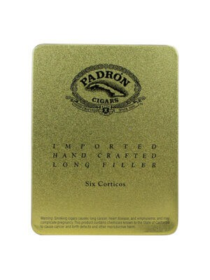 Padron Corticos Tin cigars