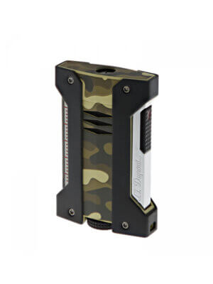 S.T. Dupont Defi Extreme Lighter Green Camouflage