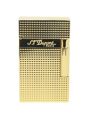 S.T. Dupont Line 2 Lighter Yellow Gold